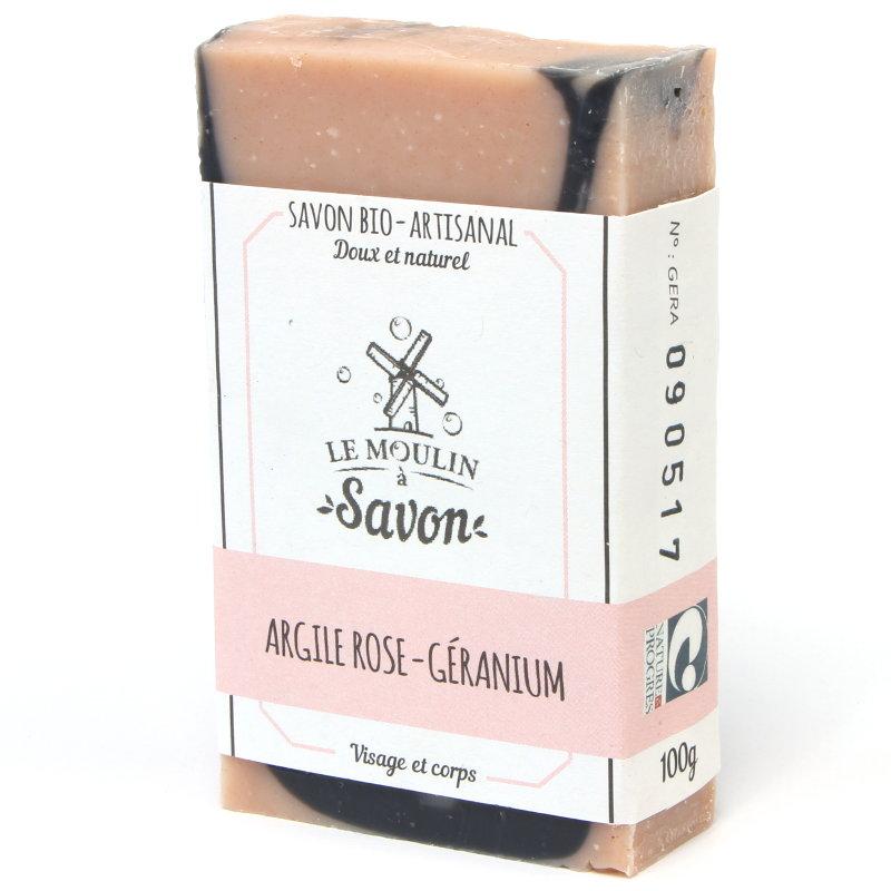 savon-artisanal-a-froid-argile-rose-geranium