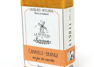 Cannelle-orange au jus de carotte