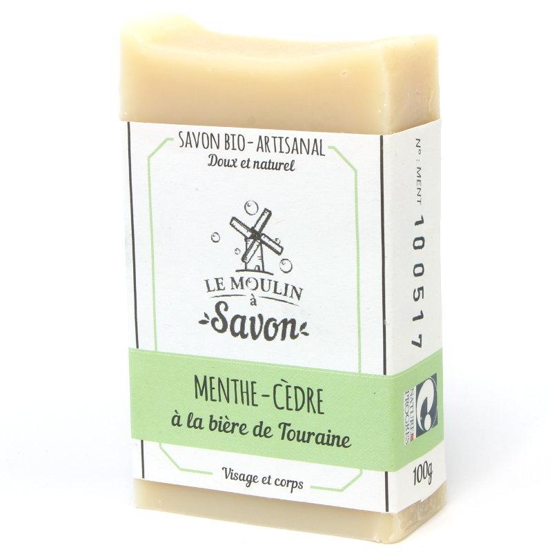 savon-artisanal-a-froid-menthe-cedre