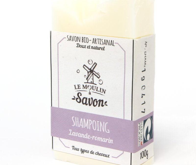 Shampoing lavande-romarin