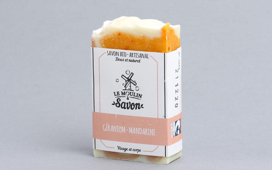 Géranium-mandarine
