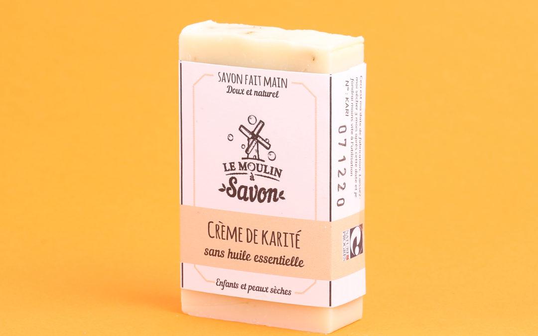 Crème de karité (sans huiles essentielles)