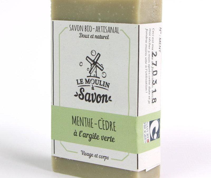 Menthe-cèdre à l'argile verte