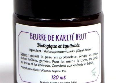 Beurre de karité brut bio-équitable