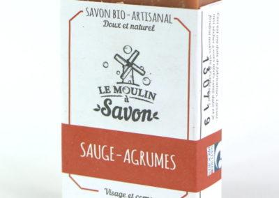 Savon Sauge-agrumes